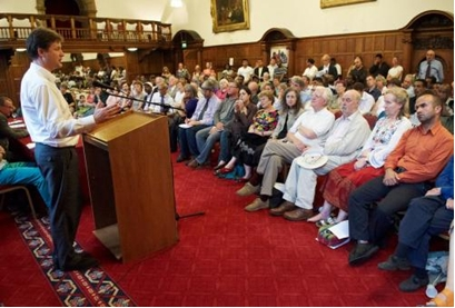 "Clegg: ""The asylum system is uniquely unfair"" Sheffield Town Hall, 2008"