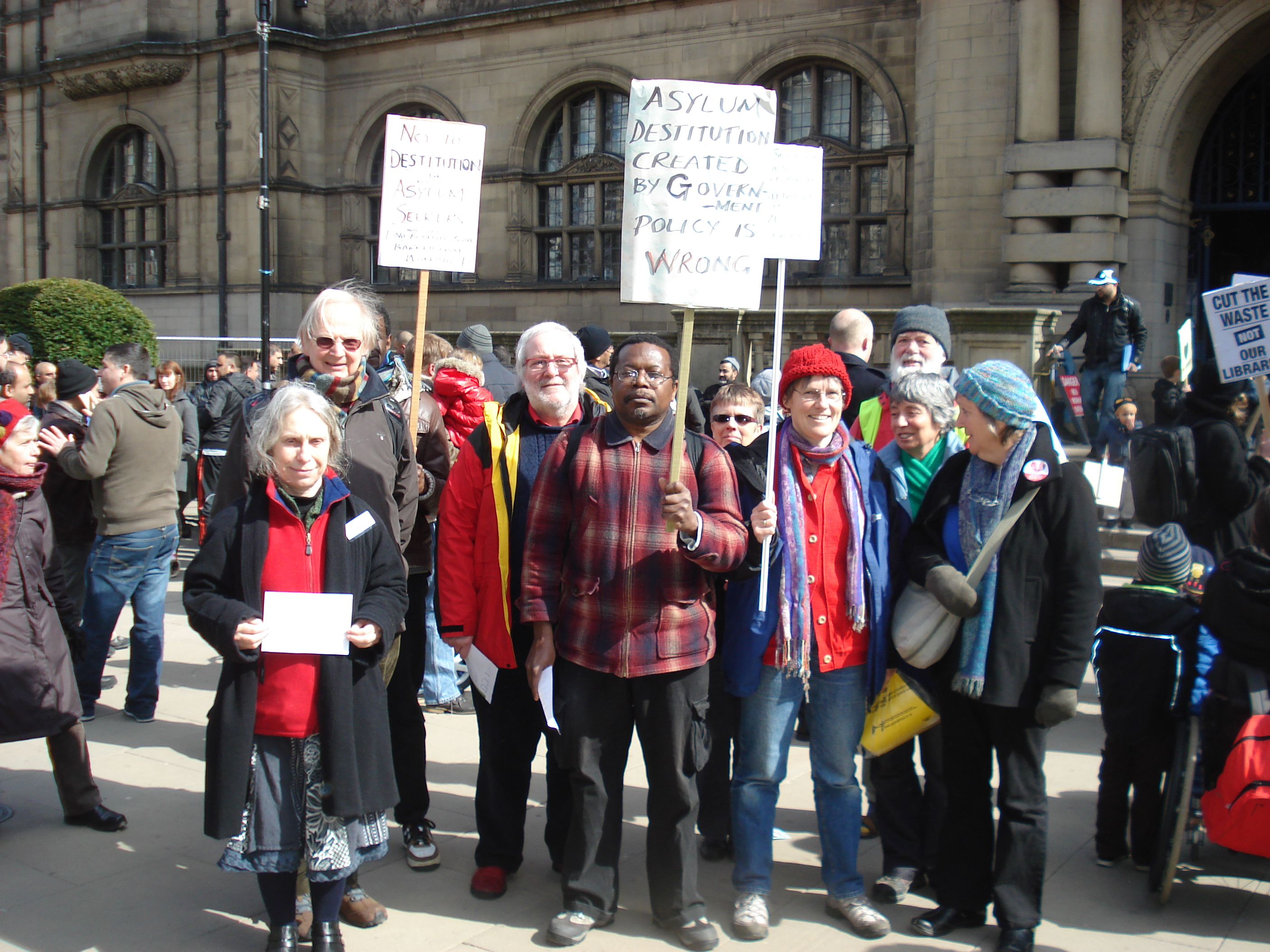 Sheffield Council Takes Stand Against Asylum Destitution