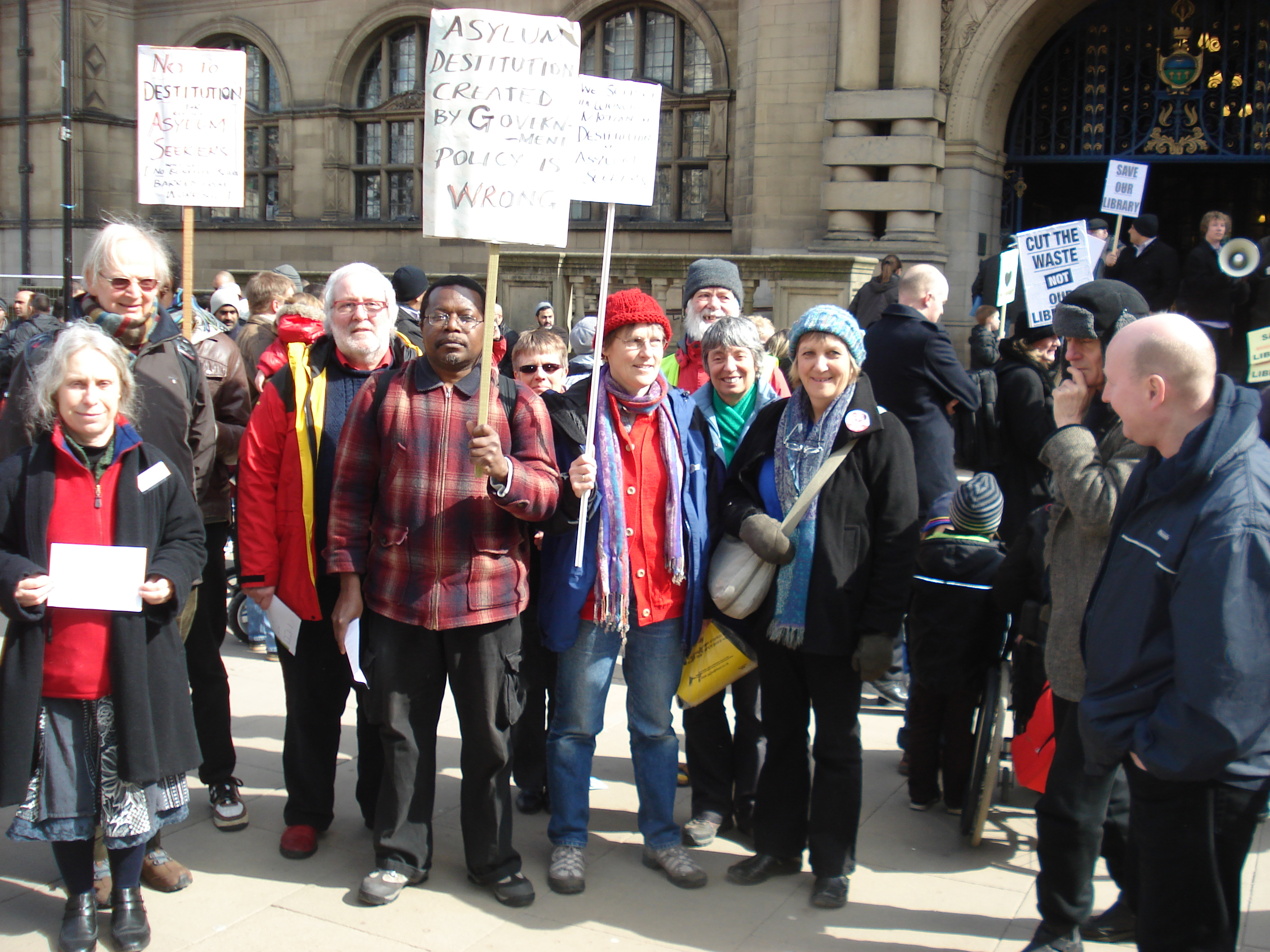 South Yorkshire asylum rights groups lobby Sheffield Council