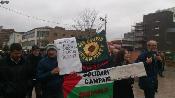 Call out: Demonstrate Against the Immigration Bill 18th December