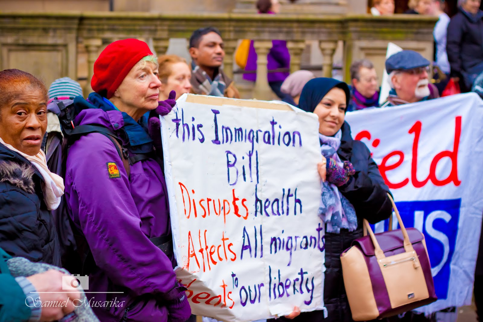 "We Don't Want a ""Hostile Environment"" Stop the Immigration Bill"