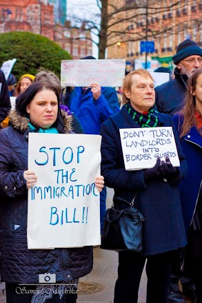 imm bill demo placard