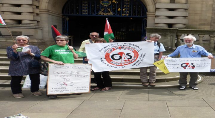 Tell Sheffield Council on October 1st: No more public money for G4S in Sheffield