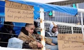 syrians at calais