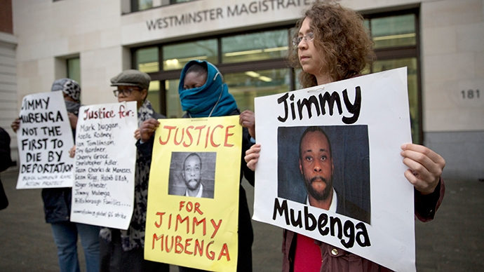 mubenga court protest