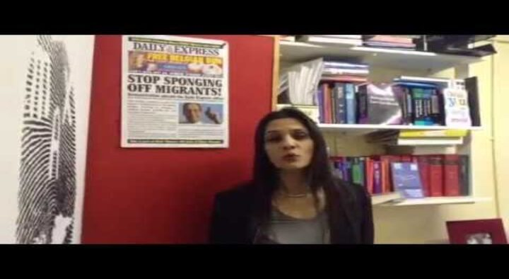 Asylum Rights Election Question Time Sheffield 16th April 7pm
