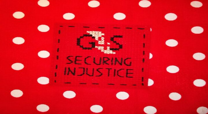Merry Christmas from G4S, you're evicted