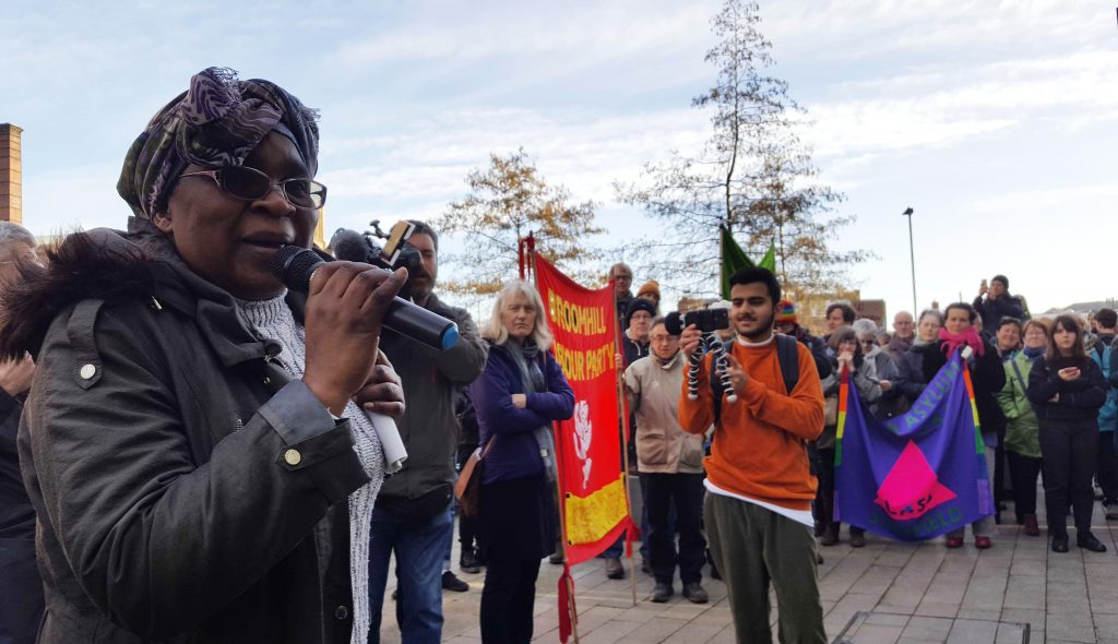 We're not frightened anymore – Sheffield says no to Zimbabwe Deportations