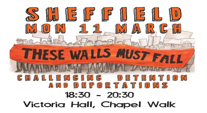 Sheffield Against Detention and Deportation: meeting 11th March